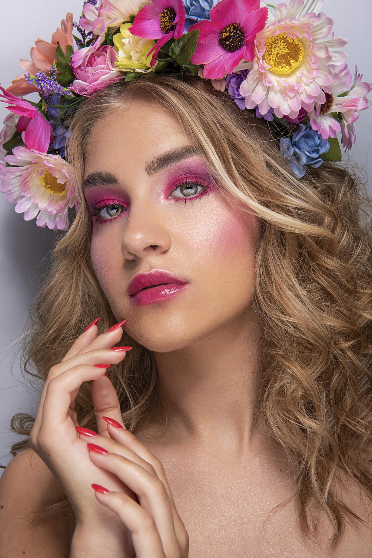 60° Edizione del corso 'Make Up Artist' – Shooting Editorial